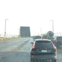 Photo taken at John Byrne-Greenpoint Avenue Bridge by Martin M. on 2/2/2014