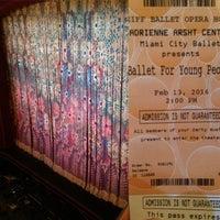 Photo taken at Ziff Ballet Opera House by Melissa S. on 2/13/2016