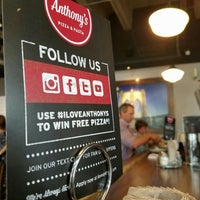 Foto scattata a Anthony's Pizza & Pasta da Tone M. il 6/23/2016