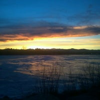 Photo taken at Sloan's Lake Park by Tone M. on 1/9/2013