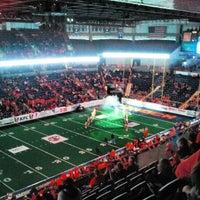 Photo taken at Spokane Veterans Memorial Arena by Dustin W. on 4/13/2013