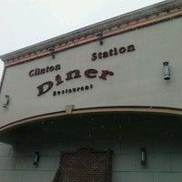 1/15/2013 tarihinde Kelsey L.ziyaretçi tarafından Clinton Station Diner'de çekilen fotoğraf