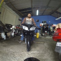 Photo taken at Reloaded Motos by Hector E. on 1/22/2015