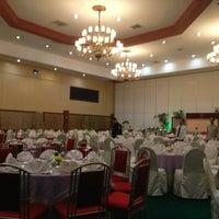 Photo taken at Centennial Hall (Manila Hotel) by Jake D. on 7/13/2013