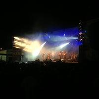 Photo taken at Festival Maré de Agosto by Paulo S. on 8/25/2013