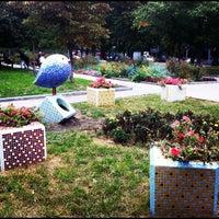 Снимок сделан в Русановская набережная пользователем Anuta S. 9/26/2012