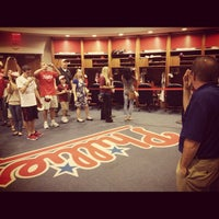 Photo taken at Phillies Clubhouse by Dom S. on 9/14/2012