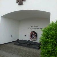 Photo taken at Ehrenmal des Deutschen Heeres by Martin G. on 6/25/2013