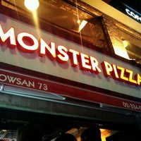 Photo taken at Monster Pizza by Skyler W. on 10/20/2012