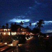 Photo taken at Hansar Samui Resort & Spa by Jonny on 5/24/2013