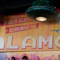 Photo taken at Alamo Drafthouse Cinema – South Lamar by Gabe C. on 10/21/2012