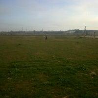 "Photo taken at Camp de futbol ""Parc del Saladar"" by Albert L. on 2/16/2013"