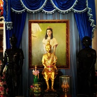Photo taken at Don Chedi Temple by Somyot K. on 9/22/2012
