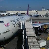 Photo taken at Air France VIP Lounge by Atif C. on 9/27/2012