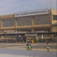Photo taken at Port Elizabeth International Airport (PLZ) by Nkululeko M. on 9/27/2012