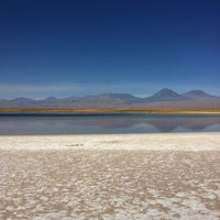 Photo taken at Laguna Cejar by Pablo G. on 12/1/2012