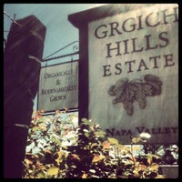 Photo taken at Grgich Hills Estate by Napa Valley Film Festival on 4/4/2012