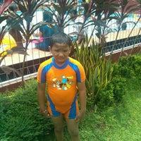 Photo taken at Taman Wisata Pasir Putih Sawangan by Dody A. on 3/11/2012