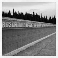 Photo taken at Sacrario militare di Redipuglia by Luca M. on 5/31/2012