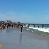 Photo taken at 12th Street Beach by Kathy B. on 6/24/2012