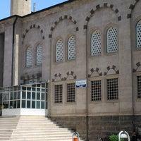 Photo taken at Hacı Ömer Arpacı Camii by Mustafa B. on 6/27/2014