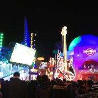 Photo taken at Universal CityWalk by Teresa Z. on 1/1/2013