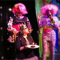 Photo taken at Lips Drag Queen Show Palace, Restaurant & Bar by Susan B. on 3/4/2013