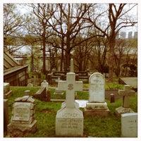 Photo taken at Trinity Church Cemetery & Mausoleum by Susan B. on 4/18/2013