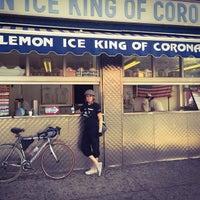 Photo taken at The Lemon Ice King of Corona by Susan B. on 5/29/2015