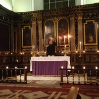 Photo taken at St Mary's Rotherhithe by Steve H. on 12/9/2017