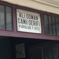 Photo taken at Ali Osman Camii by Mert S. on 2/8/2013