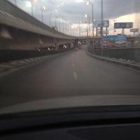 Photo taken at 6th October Bridge by Hesham S. on 11/9/2012
