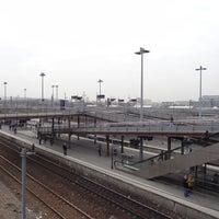 Photo taken at RER Stade de France Saint-Denis [D] by Jack S. on 1/6/2014