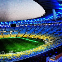 Photo taken at Mário Filho (Maracanã) Stadium by Marcello M. on 6/25/2013