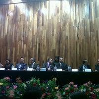 Photo taken at Auditorio Salvador Allende by Peregrín P. on 3/9/2013