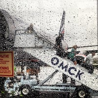 Photo taken at Omsk Central International Airport (OMS) by Julia O. on 7/4/2013