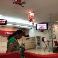 Photo taken at CIMB Bank by Adlyna T. on 8/2/2017