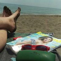 Photo taken at Playa Rio Seco by Javi R. on 7/7/2016