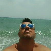 Photo taken at Playa Rio Seco by Javi R. on 7/18/2016