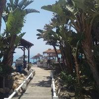 Photo taken at Sirena Beach Club by Javi R. on 5/11/2018
