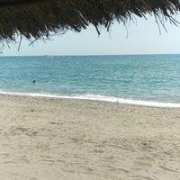 Photo taken at Playa Rio Seco by Javi R. on 8/12/2015