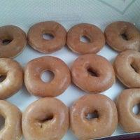 Photo taken at Krispy Kreme Doughnuts by Monika S. on 4/28/2013