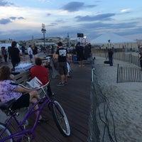 Photo taken at Belmar Beach 6th Avenue by Michael W. on 7/24/2014