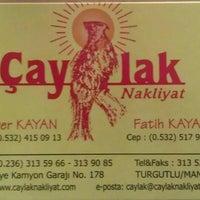 Photo taken at çaylak nakliyat by Kayabey on 2/11/2013