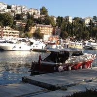 Photo taken at İstinye Marina by Kenan E. on 10/18/2012