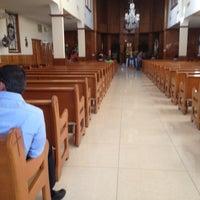 Photo taken at Parroquia Santa Eduwiges by Gabriel G. on 5/11/2013
