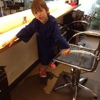 Photo taken at Kaze Hair Studio by Eide O. on 11/21/2014