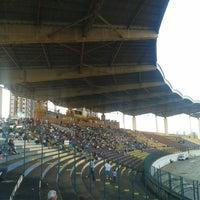 Photo taken at Estádio Willie Davids by Talyta Cristina A. on 7/14/2013