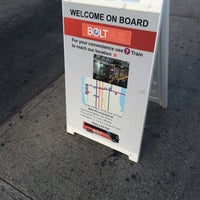 Photo taken at BoltBus Midtown Stop by Christopher N. on 12/11/2015
