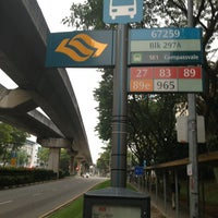 Photo taken at Bus Stop 67259 (Blk 297A) by Don M. on 3/25/2013